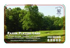 Paxon Hollow CC