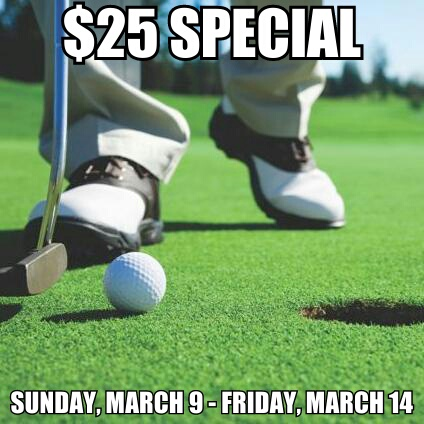Wichita Golf, Greens Fee Special