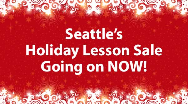 Seattle's Holiday Lesson Sale