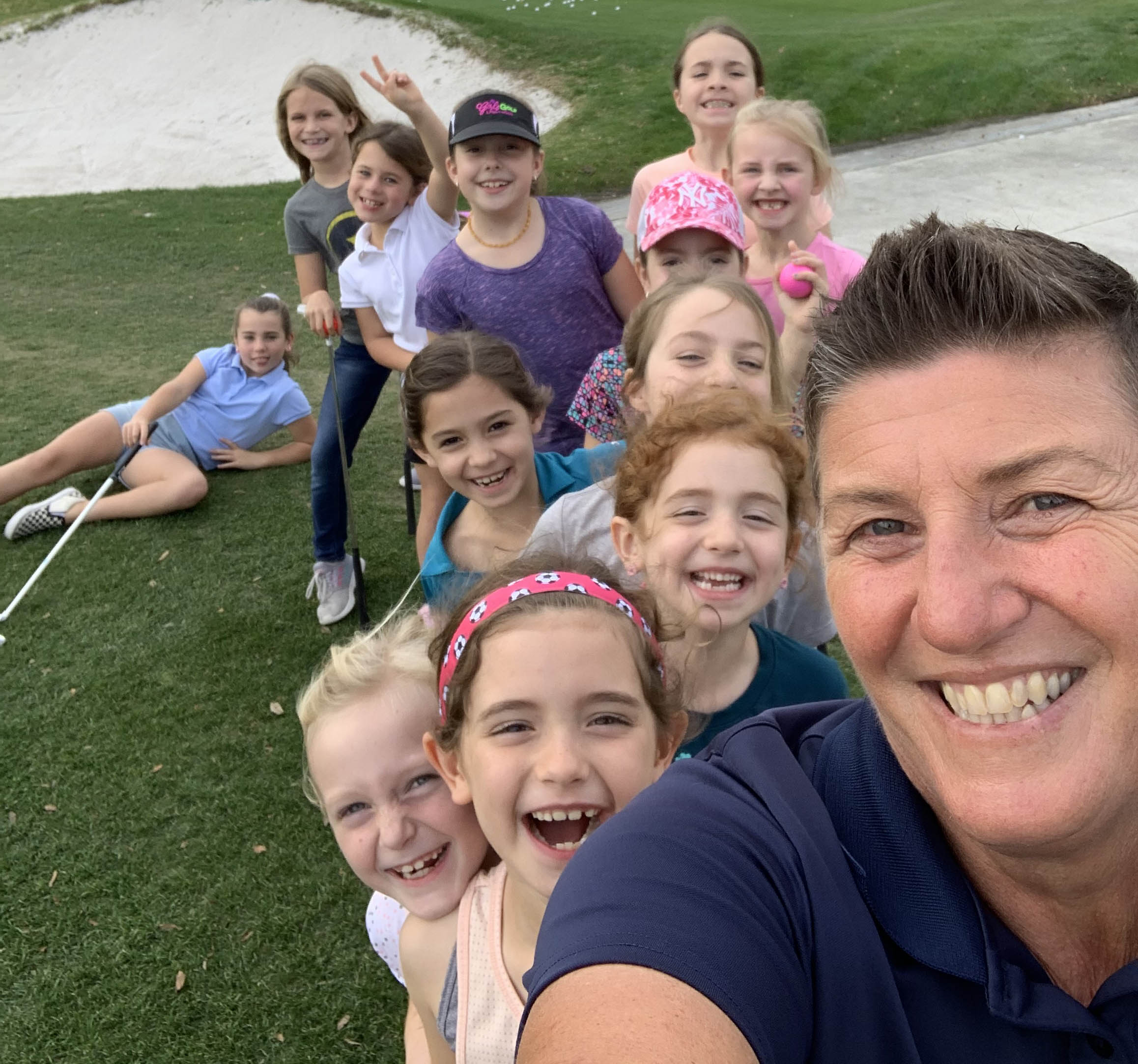 Camille LPGA USGA Girls Golf Classes