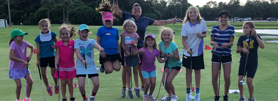 Camille Girls Golf Classes